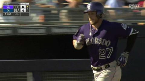 COL@SEA: Story hits a solo home run to right