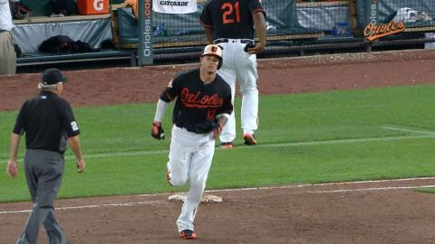 Machado's three grand slams in the month of August