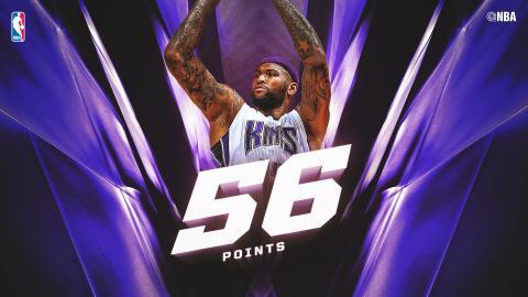 DeMarcus Cousins Drops Career-High 56 Points!