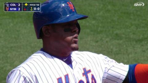 COL@NYM: Uribe plates Murphy with a double to center