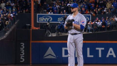 NLCS Gm1: Lester fans five over 6 2/3 frames vs. Mets