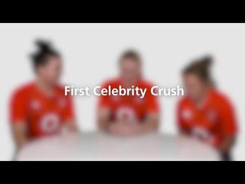 O2 Inside Line, Red Roses' first celebrity crushes