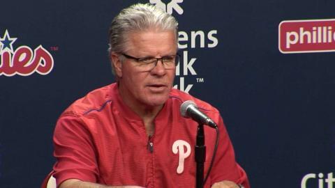STL@PHI: Mackanin on Morgan, bullpen and offense
