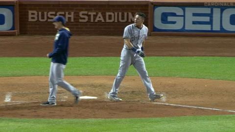 MIL@STL: Perez gets ejected for arguing strike call