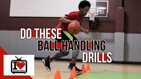 3 Basketball Dribbling Drills To Get Better Handles