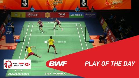 Play of The Day | Badminton Finals - Princess Sirivannavari Thailand Masters 2018 | BWF 2018