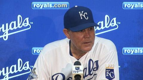 CWS@KC: Yost on 14-inning win over the White Sox