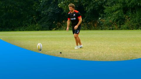 The third of Ricoh's Rugby Change Series film - Kicking