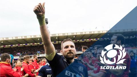 Scotland v Wales | Behind the scenes