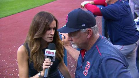 BOS@CLE Gm2: Willis discusses Price's outing