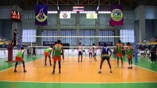 Asian School Volleyball Championship 2014 HK Vs India Part 2/5