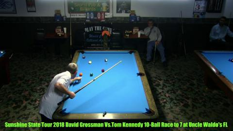 Sunshine State Tour 2018 Tom K VS David Grossman  Race to 7