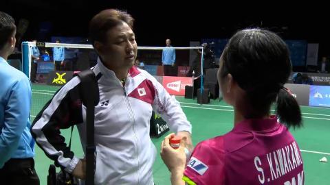 He Bing Jiao vs Saena Kawakami | WS F Match 2 SKYCITY New Zealand Open 2015