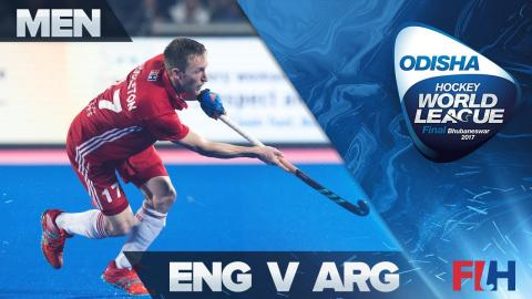 England v Argentina QF Highlights - Odisha Men's Hockey World League Final - Bhubaneswar, India