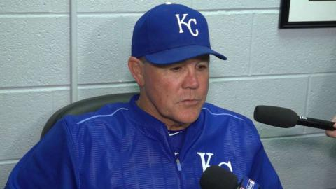 KC@CWS: Yost on Kennedy, win over White Sox