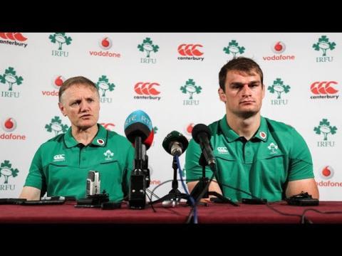 Irish Rugby TV: Joe Schmidt & Rhys Ruddock On Ireland's Summer Tour