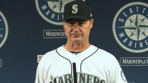 LAA@SEA: Servais talks about Martinez's ceremony