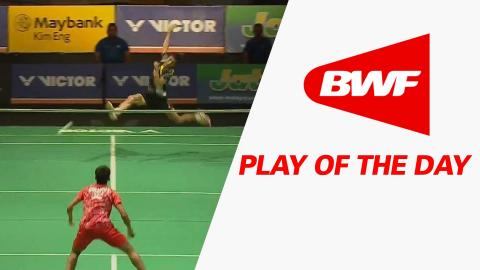 Play Of The Day | Badminton SF – Victor Far East Malaysia Masters 2016