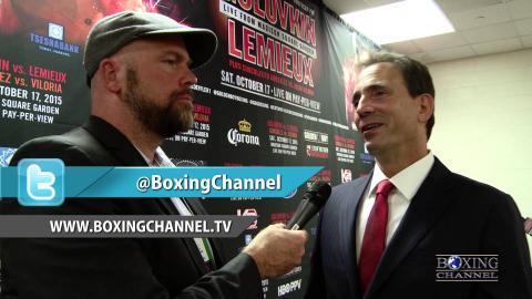 Promoter Tom Loeffler Talks Golovkin vs Lemieux