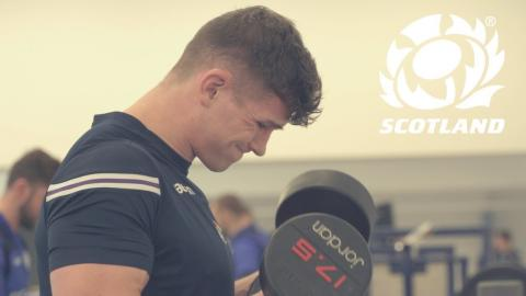 2018 NatWest 6 Nations | Gym Session