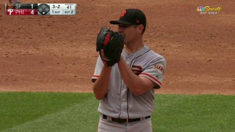 SF@PHI: Moore sets Hellickson down on strikes