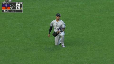 COL@SF: Desmond makes a nice grab in the 1st