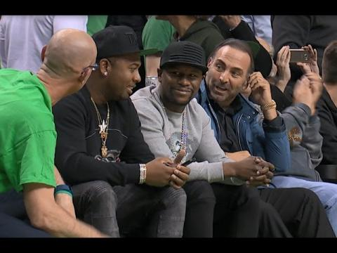 Floyd Mayweather Jr., Fans and Players React to Isaiah Thomas' Clutch Shot!