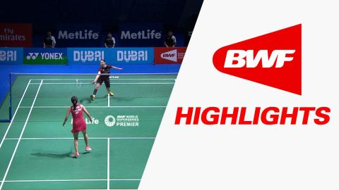 Dubai World Superseries Finals 2015 | Badminton Day 1 – Highlights