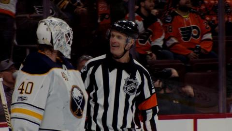 Episode 1 Bonus: Sabres chat with a mic'd up referee