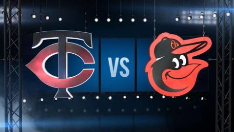 8/20/15: Twins thrash Orioles, take series opener