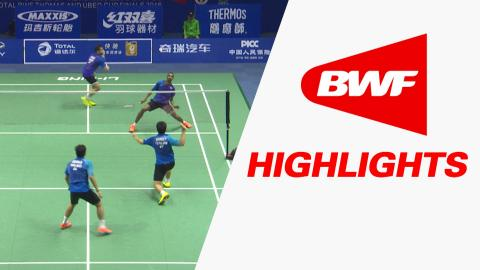 TOTAL BWF Thomas & Uber Cup Finals 2016 | Badminton-Day 1/S1-Thomas Cup GrpB IND vs THA – Highlights