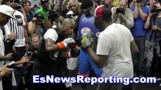 Floyd Mayweather Vs Manny Pacquiao Do You Want A Rematch? Esnews Boxing