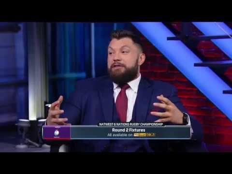 NBC analyst Alex Corbisiero recaps Round 1 with Derek Rae | NBC on NatWest 6 Nations