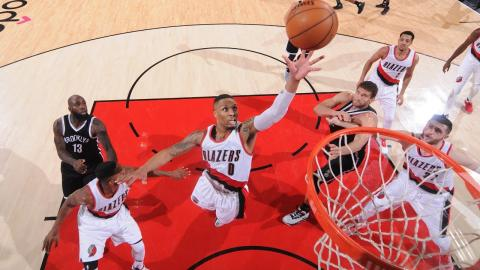 Relive Damian Lillard's Best Plays Since The All Star Break!