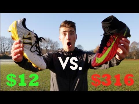 $12 Vs. $316 FOOTBALL BOOTS!!!