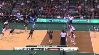 PENN STATE Vs STANFORD NCAA VOLLEYBALL 2014 SEMIFINALS [Set 3]