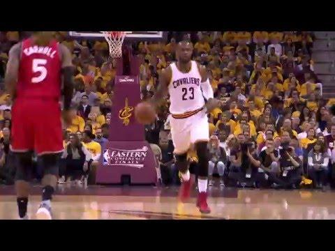 LeBron James Registers Triple-Double as Cavaliers Take Game 2