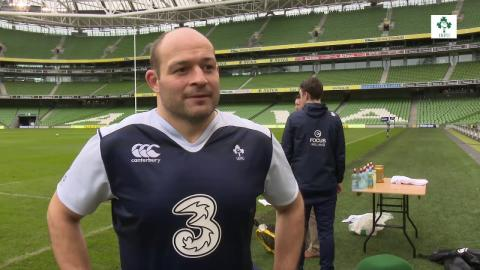 Irish Rugby TV: Rory Best On Ireland v Italy