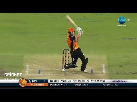 Perth Scorchers v Hobart Hurricanes, BBL|07