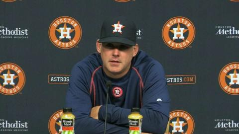 MIN@HOU: Hinch on team's offensive output in 16-4 win