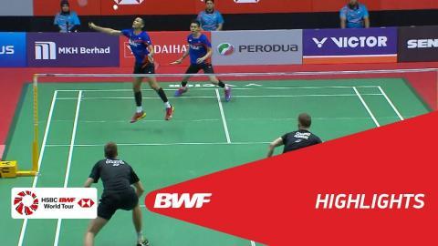 Perodua Malaysia Masters 2018 | Badminton MD - SF - Highlights  | BWF 2018