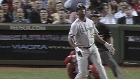 CWS@BOS: Dye's 40th homer of 2006 season