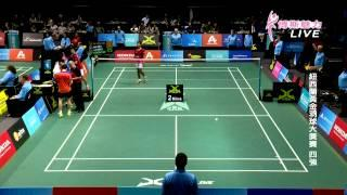 [MD] Badminton Semifinal 2015 New Zealand Open Grandprix Gold