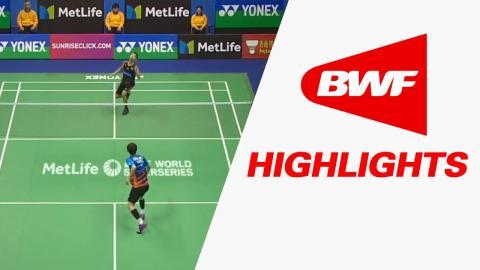 Yonex-Sunrise Hong Kong Open 2017   Badminton QF – Highlights