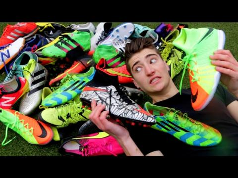 $10,372 Worth of FOOTBALL BOOTS!! (My Collection 2017)