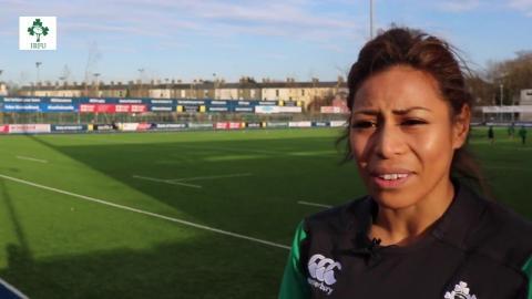 Irish Rugby TV: Sene Naoupu - Ireland Women's Preview