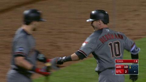 ARI@STL: D-backs hit back-to-back homers in 9th