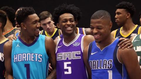 All-Access: 2017 NBA Rookie Photo Shoot