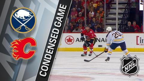 01/22/18 Condensed Game: Sabres @ Flames
