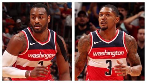 John Wall and Bradley Beal Combine For 53 Points in Win vs. Heat | November 15, 2017